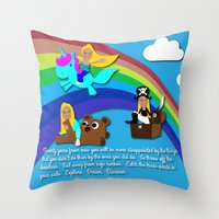 Kelsey Sharkey Congrats Throw Pillow