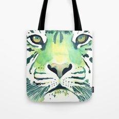 Green Tiger Tote Bag