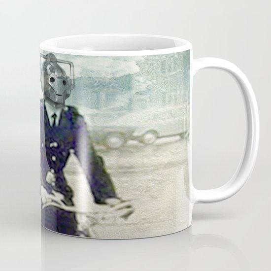 Cybermen on bikes Mug
