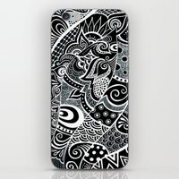 Tangled fishes iPhone & iPod Skin