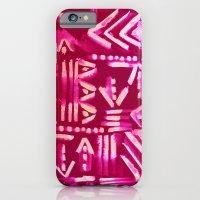 Tapa Tribal Red iPhone 6 Slim Case