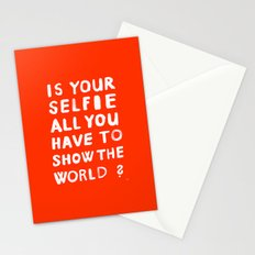 YOUR SELFIE Stationery Cards