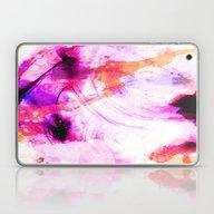 Abstract Digital Ink Laptop & iPad Skin
