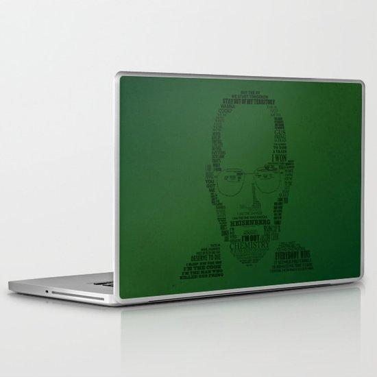 Breaking Bad:  Walter White Laptop & iPad Skin