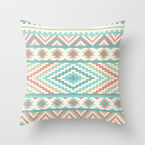 Friendship Bracelet Throw Pillow