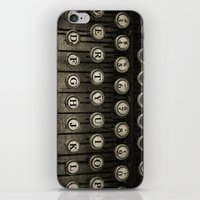 Typewriter Keys iPhone & iPod Skin