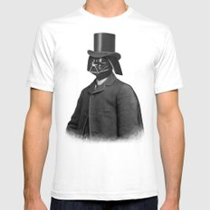 Lord Vadersworth  - square format Mens Fitted Tee White SMALL