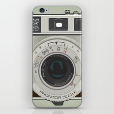 Vintage Camera II iPhone & iPod Skin