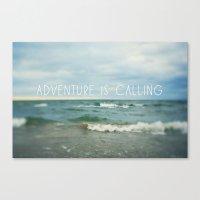 Adventure Is Calling - W… Canvas Print
