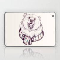 Bear & Scarf Laptop & iPad Skin