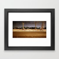 naturally artificial Framed Art Print