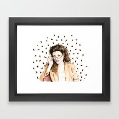 Sponge Worthy Framed Art Print
