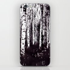 You can't see the forest for the trees iPhone & iPod Skin