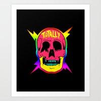 Stay Rad! Art Print