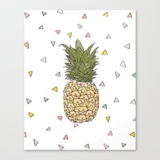 Pinapple Canvas Print