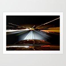 Road Rage Art Print