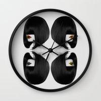 Primal Fashion Wall Clock
