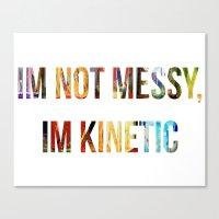 Kinetic Energy Canvas Print