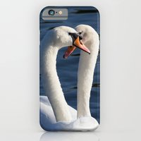 Courting Swans  iPhone 6 Slim Case