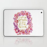 Anything's Possible – … Laptop & iPad Skin