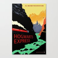 The Express Canvas Print