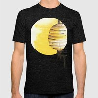 Lantern Mens Fitted Tee Tri-Black SMALL