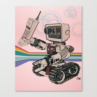1980s Corporate Robot Canvas Print