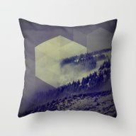 Blue Mountains Throw Pillow