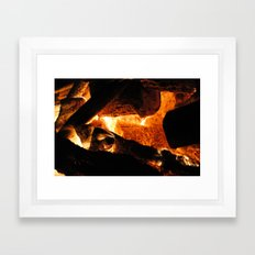 hell hole Framed Art Print