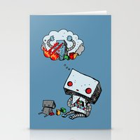 A Dream About the Future Stationery Cards