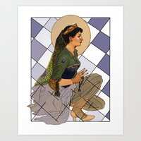 Looking Glass Alyss Art Print
