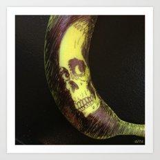 Evil Dead 2 - Banana Art Print