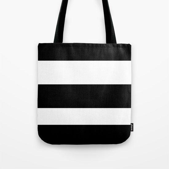 thick stripes Tote Bag