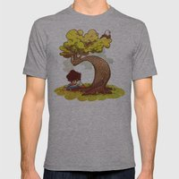 Reading Mens Fitted Tee Athletic Grey SMALL