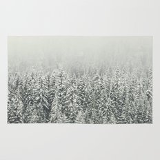 Snow Forest Rug