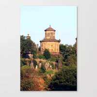 Necropolis Glasgow Canvas Print