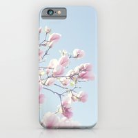 Pink magnolias iPhone 6 Slim Case