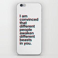 I Am Convinced  iPhone & iPod Skin