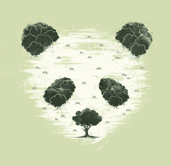 Deforestation Art Print