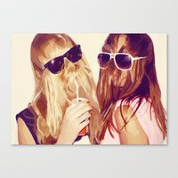 it girls Canvas Print