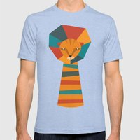 Lio Fun Mens Fitted Tee Tri-Blue SMALL
