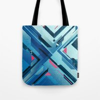 Geometric - Collage Love Tote Bag