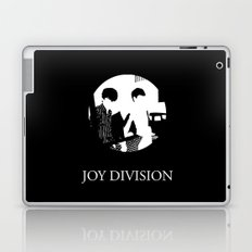 JOY DIVISION - Music | Goth | Indie | Wave | Retro | Vintage | Vector | Black and White | Vinyl  Laptop & iPad Skin