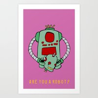 Are We Robot? Art Print