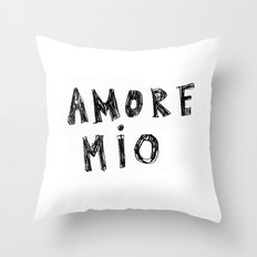 AMORE MIO Throw Pillow