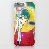 iPhone & iPod Case featuring Time Lady Setsuna by rachelle abellar