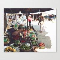 Fruit Market, Hoi An.  Canvas Print