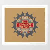 The Bicycle Lair Art Print