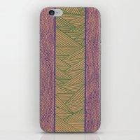 Green And Purple iPhone & iPod Skin