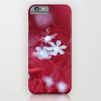 Red Snowflake iPhone 6 Slim Case